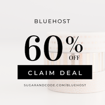 bluehost deal 300